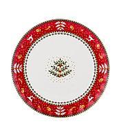 "54-543 Блюдо, тарелка ""CHRISTMAS COLLECTION"" ДИАМЕТР=26 СМ."