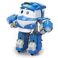 Роботы-поезда, Фигурка-трансформер Кей с прицепом Делюкс, 10 см