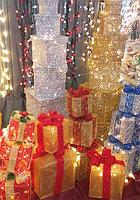 """Новогодняя светодиодная фигура """"Подарки"""""""