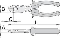Бокорезы усиленные, рукоятки BI, фото 2