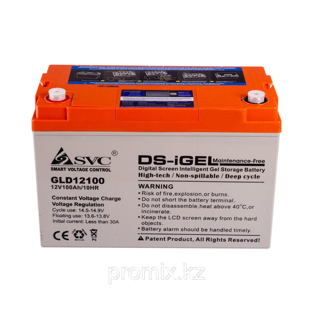 Аккумулятор SVC GLD12100 12В 100 Ач (GEL)