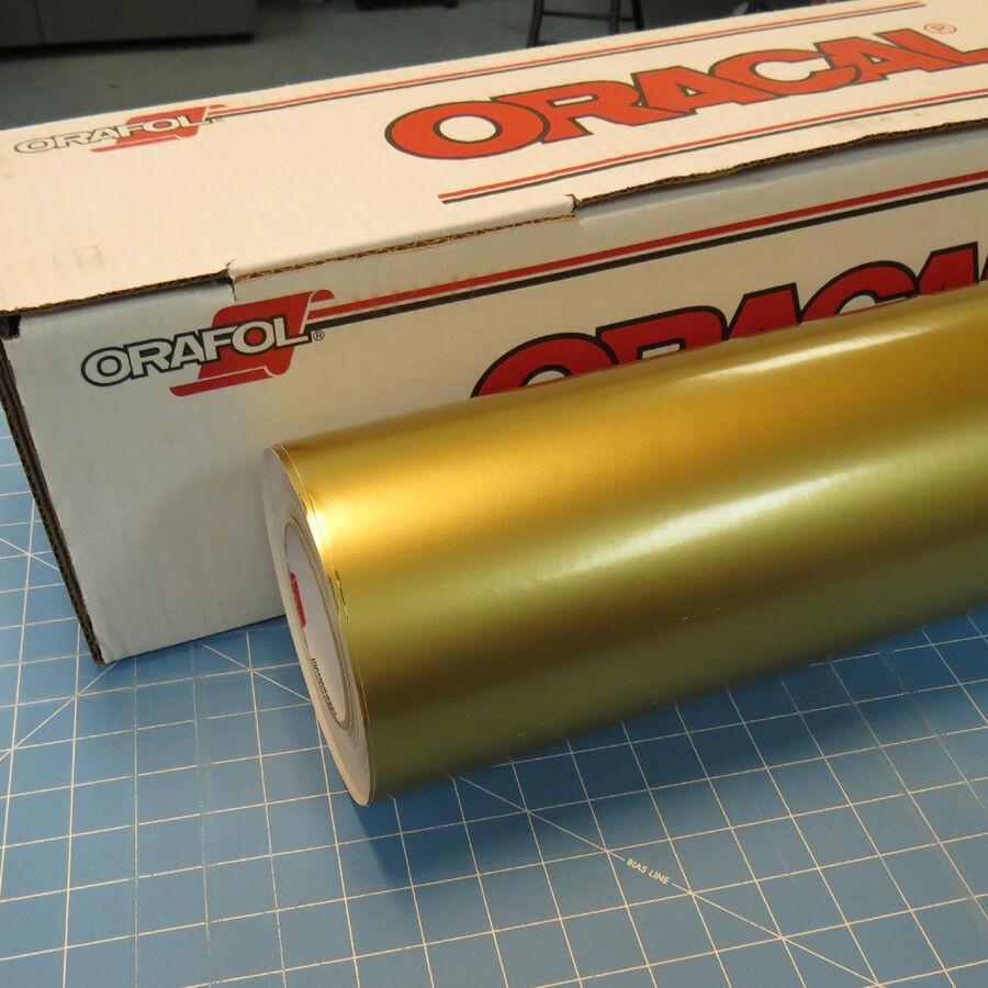 ORACAL 641 091M Золотистый матовый (1,26м*50м)