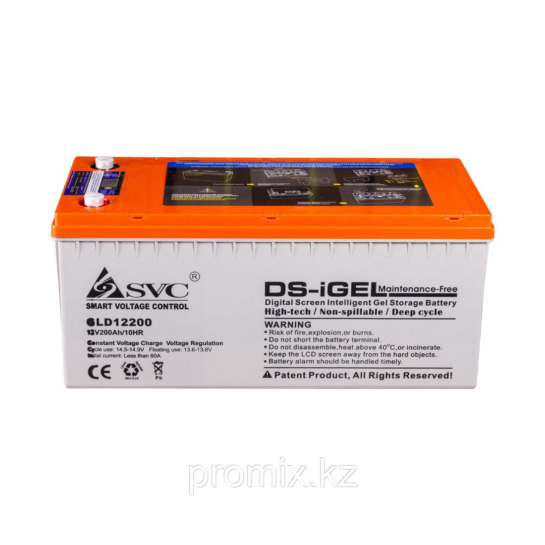 Аккумулятор SVC GLD12200 12В 200 Ач (GEL)