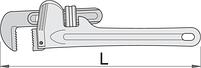 Ключ трубный (американский тип), фото 2
