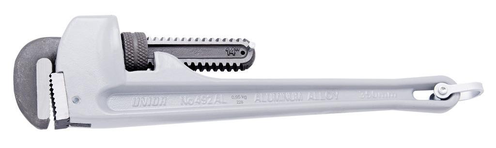 Ключ трубный (американский тип), алюминиевый
