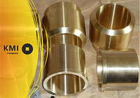 Втулка бронзовая 100х50х1 мм БрАЖМц10-3-1,5 (CuAl10Fe3Mn1)