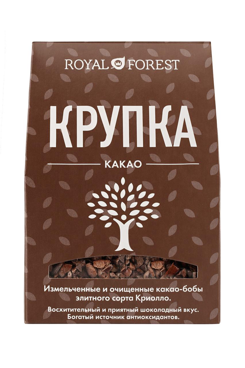 Обжаренная какао-крупка Royal Forest, 100 гр