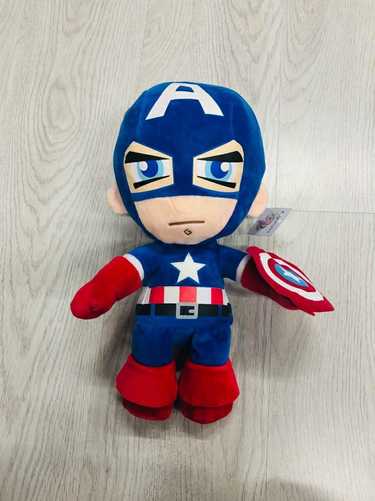 Мягкая игрушка капитан Америка 25см