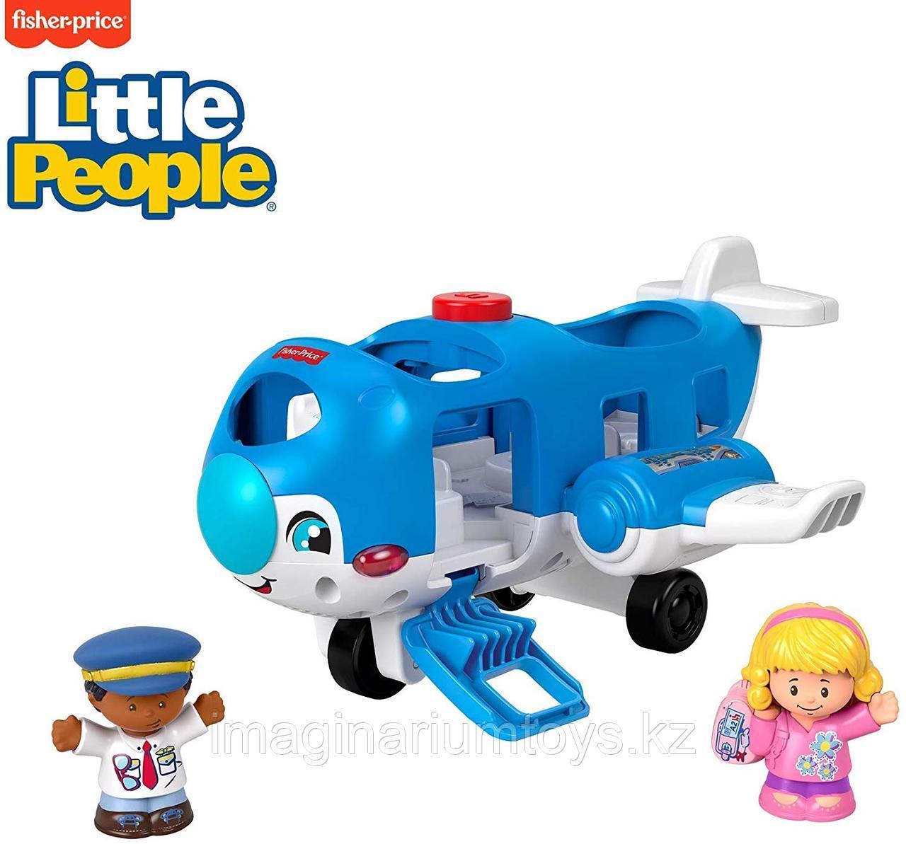 Развивающая интерактивная игрушка «Самолет»
