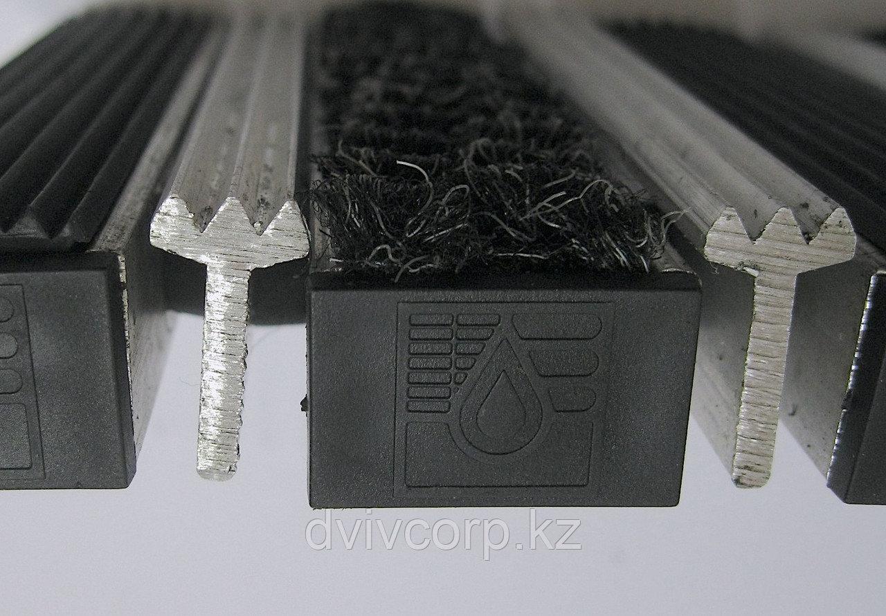 Заглушка торцевая пластиковая для придверных систем грязезащиты