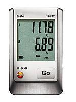 Testo Testo 176 T2 2-х канальный логгер данных температуры с разъемами для высокоточного внешнего зонда  (Pt100) 0572 1762, фото 1
