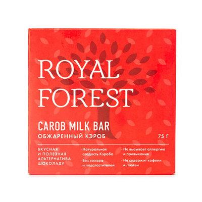 Шоколад из кэроба Royal Forest, 75 гр