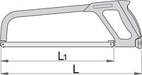 Ножовка по металлу, фото 2
