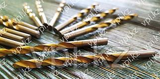 Сверло по металлу, нитридтитановое покрытие, HSS,  5.5*93мм, Matrix