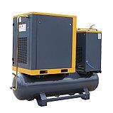 Винтовой компрессор APB-10A-500-AP, -1,1куб.м, 7,5кВт, AirPIK, фото 5