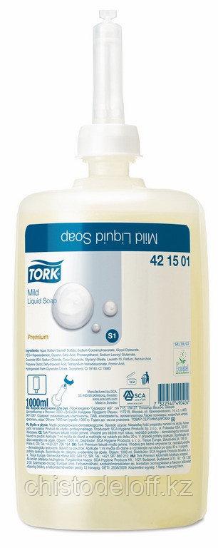 Tork жидкое мыло мягкое для диспенсера