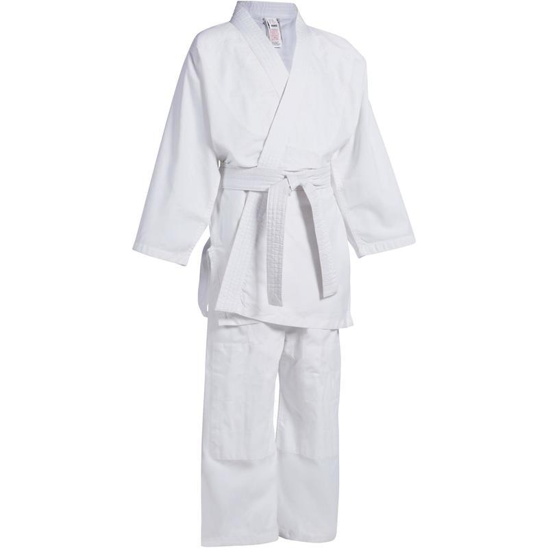 Кимоно для дзюдо белый 100 % хлопок - фото 7