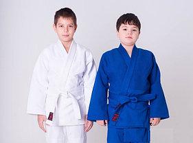 Кимоно для дзюдо белый 100 % хлопок Пакистан рост от 120 см до 190 см
