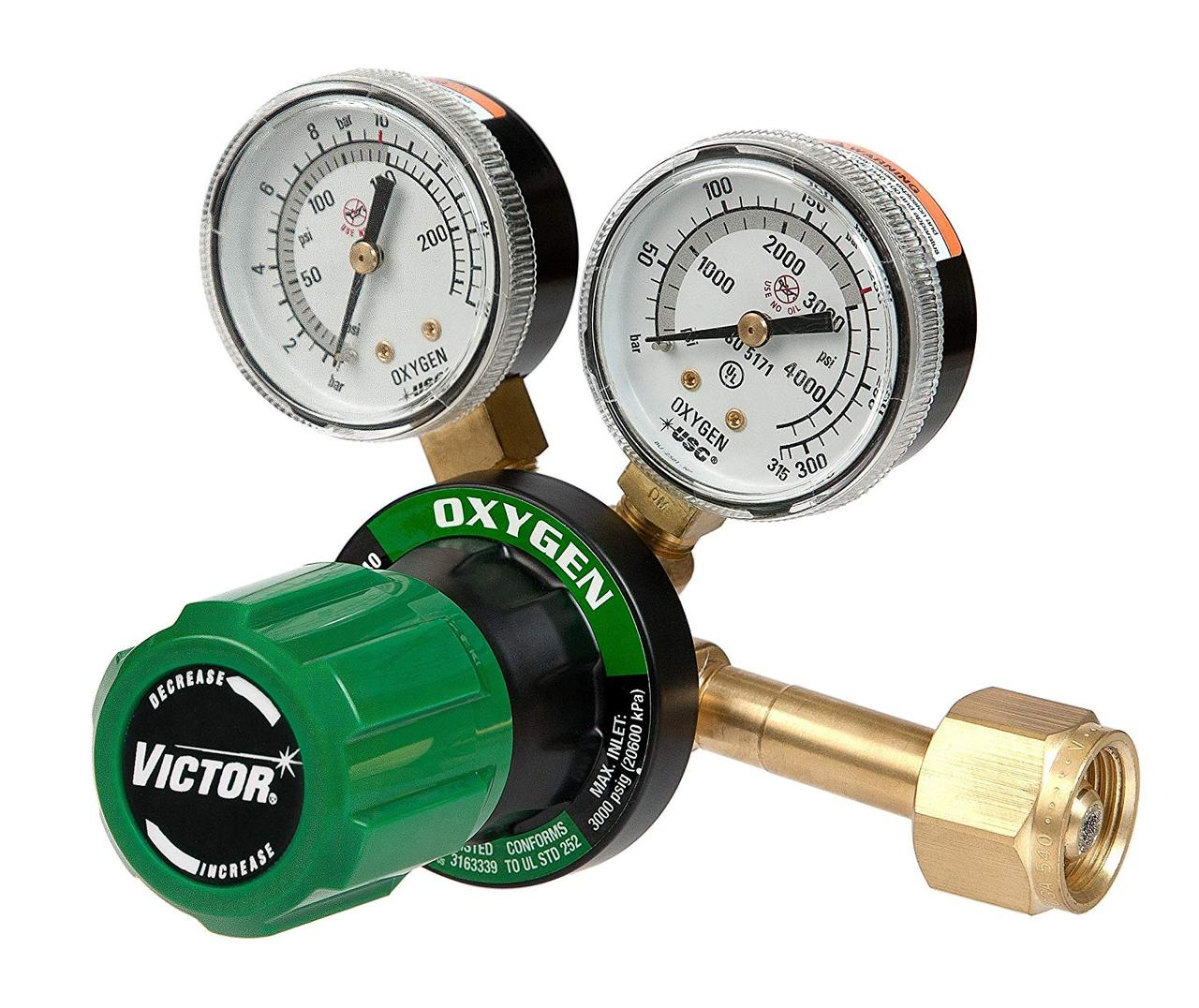 350 MEDIUM DUTY OXYGEN PRESSURE REGULATOR
