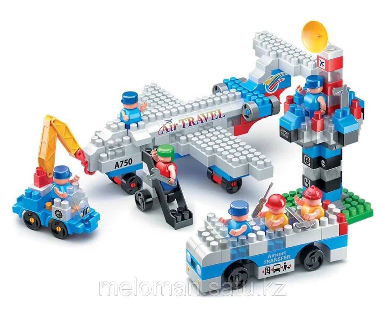 Bauer: Конструктор набор пассажирский лайнер, автобус, сервисный автомобиль и КДП - фото 4