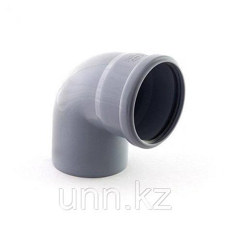 Отвод кан. 87° (90° тыл) 110х50 Jakko, фото 2