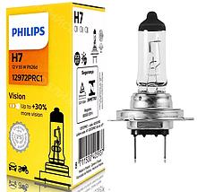 Галогеновые лампы PHILIPS H7 12972 12V 55W PX26d 1лампа