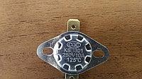 KSD301 125С 250В 10A, Термостат, подвижный фланец, загнутые выводы