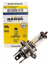 Галогеновая Лампа NARVA H4 12V 60/55W P43t-38 488813000 1лампа