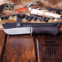 """Нож """"Песец"""" из порошковой стали ELMAX, рукоять стабилизированный граб"""