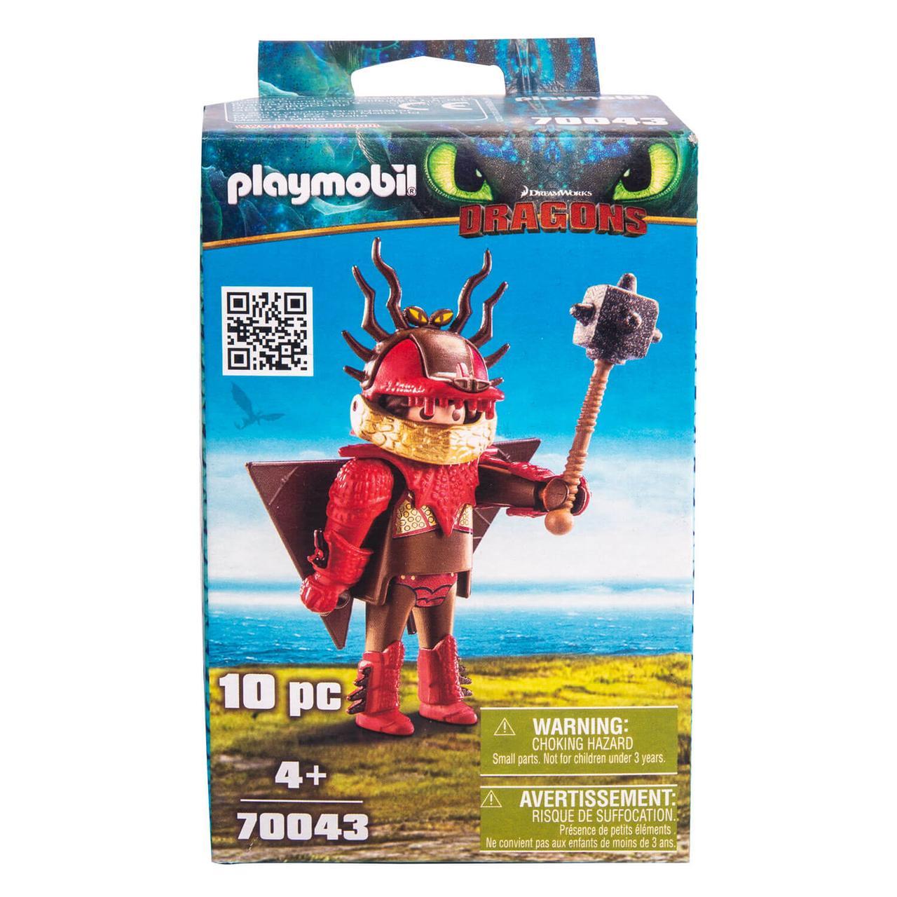 Конструктор Playmobil Драконы III: Сморкала в летном костюме - фото 1