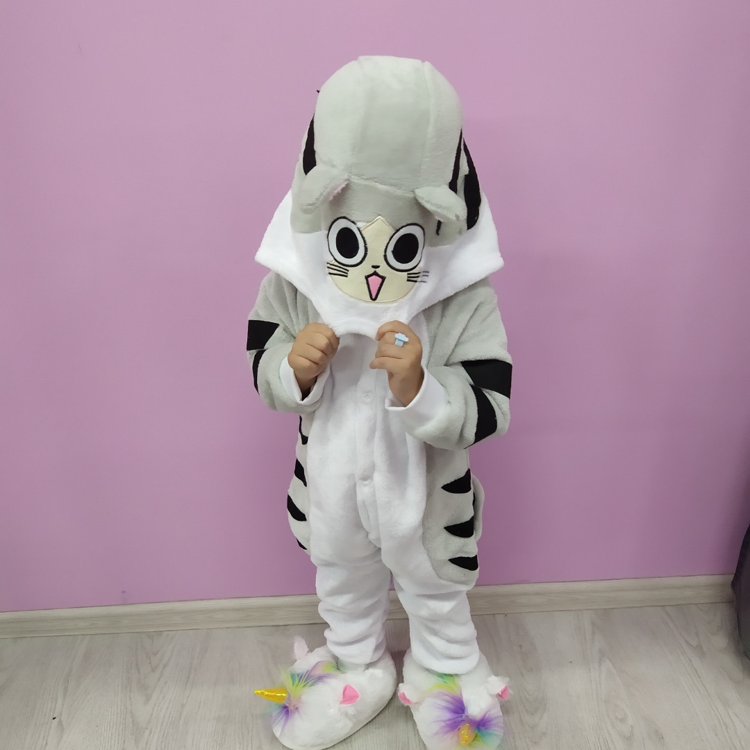 Детская пижама кигуруми Котёнок Чи