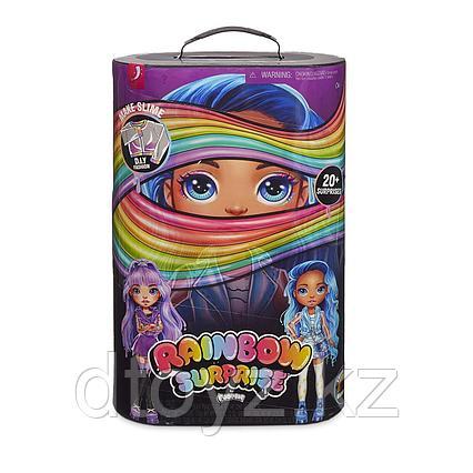 Poopsie Rainbow Surprise Пупси Радужная Кукла Сюрприз (фиолетовая коробка)