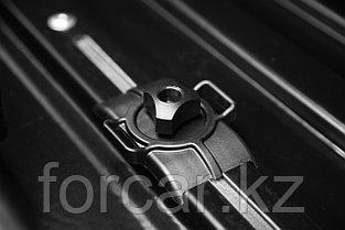 Бокс LUX TAVR 175 черный глянцевый 450L (1750х850х400) с двусторонним открыванием, фото 3