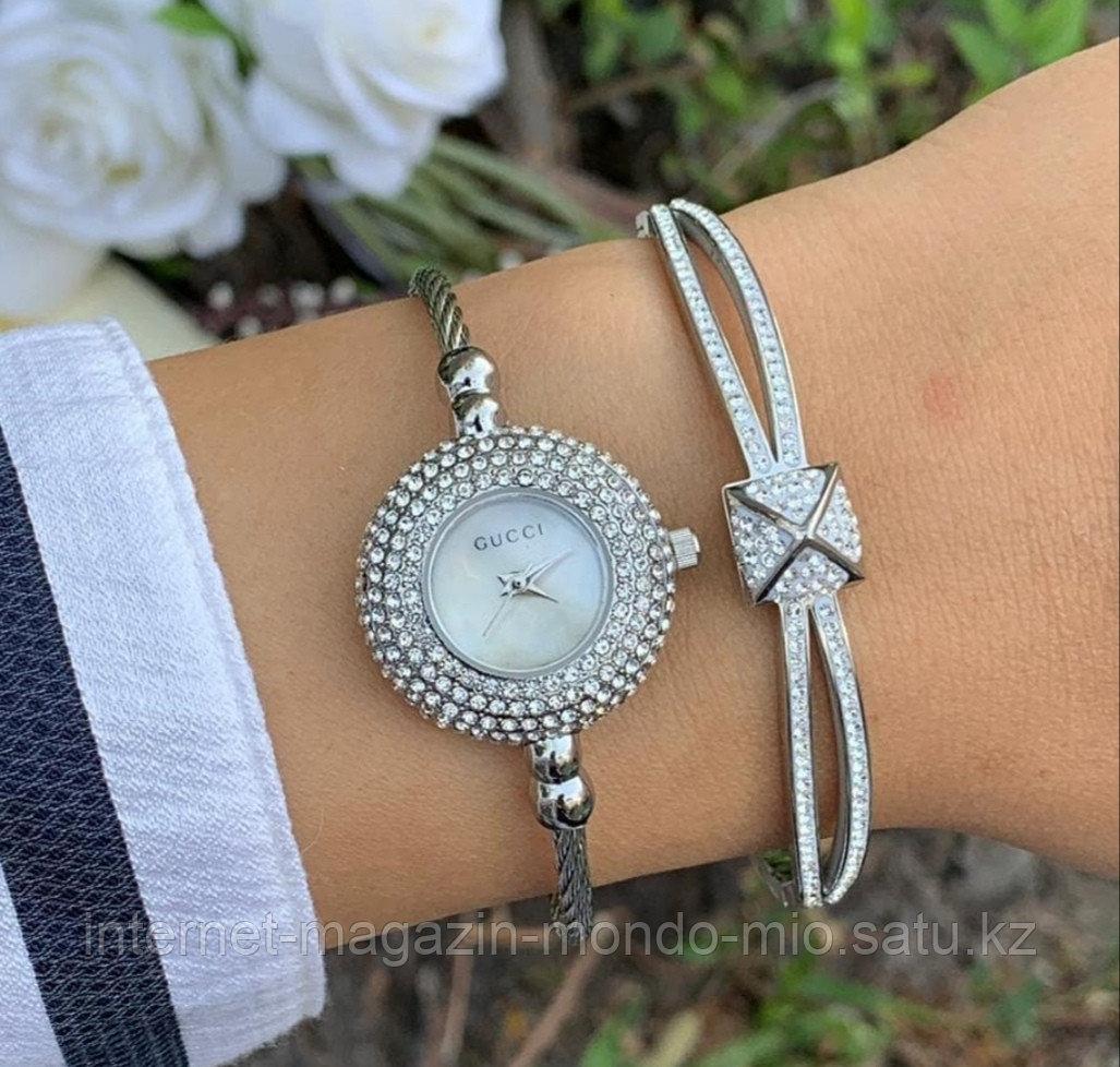 Эксклюзивный Набор часы GUCCI и браслет