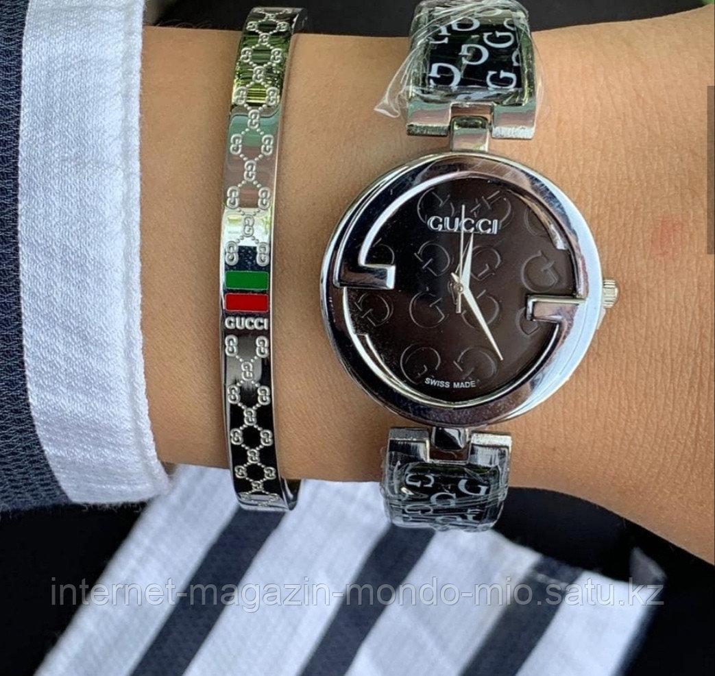 Стильный набор GUCCI часы и браслет