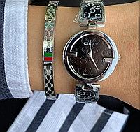 Стильный набор GUCCI часы и браслет, фото 1