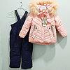 """Комбинезон с курткой """"Ohccmith"""", для девочек 1 до 8 лет, розовая."""