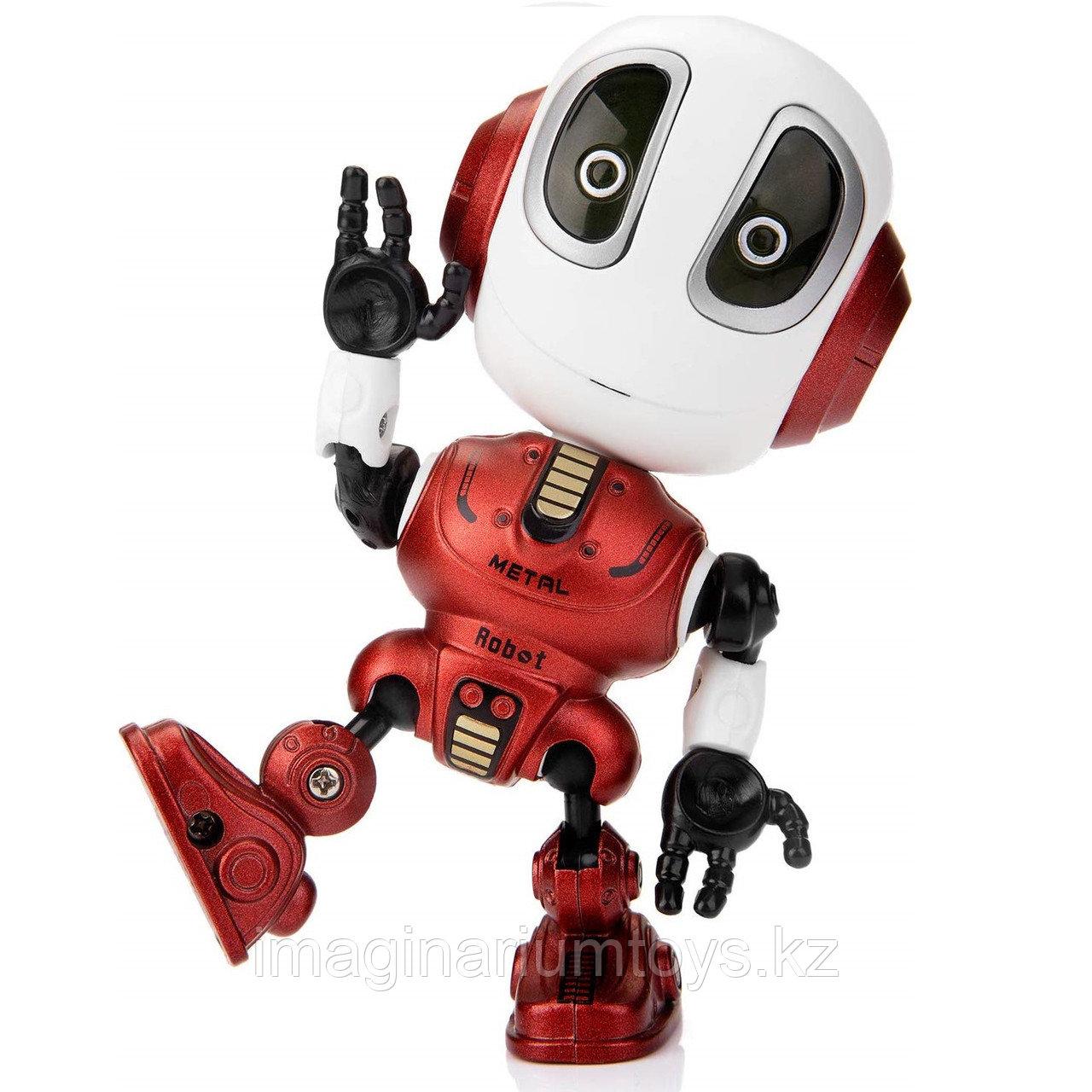 Игрушка робот интерактивный в красном цвете