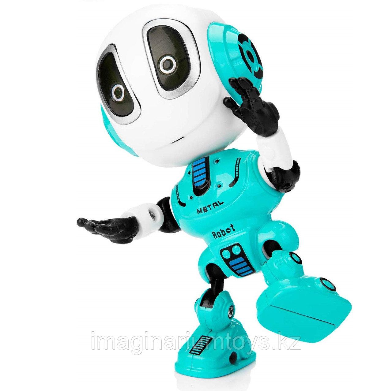 Игрушка робот интерактивный в мятном цвете