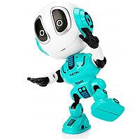 Игрушка робот интерактивный в мятном цвете, фото 1