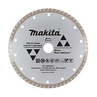 Алмазный рифлёный диск по граниту 180 мм
