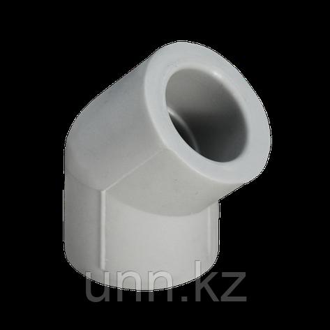 Отвод ППР 45° серый 20 Jakko, фото 2