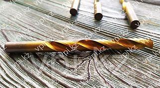 Сверло по металлу, нитридтитановое покрытие, HSS,  11.5мм,