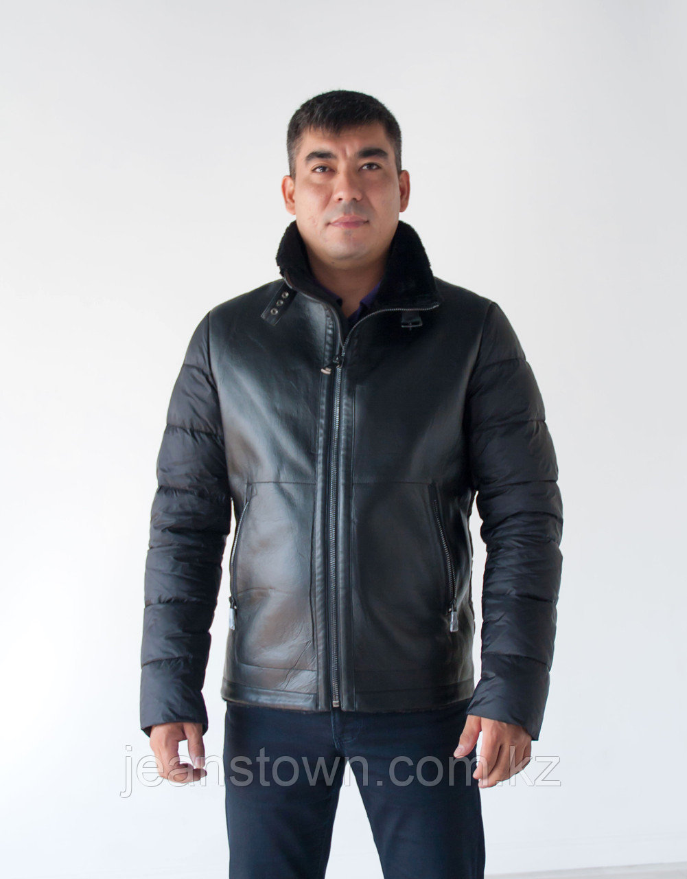 Куртка мужская   Vivacana  короткая,черная