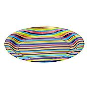 Тарелка d 230мм, дизайн, Technicolor, Бумага, 50 шт