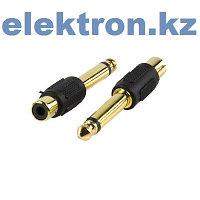 Переходник П-10 (6,35 mm stereo pluq — RCA jack) кабель аудио,видео,компьютерный купить