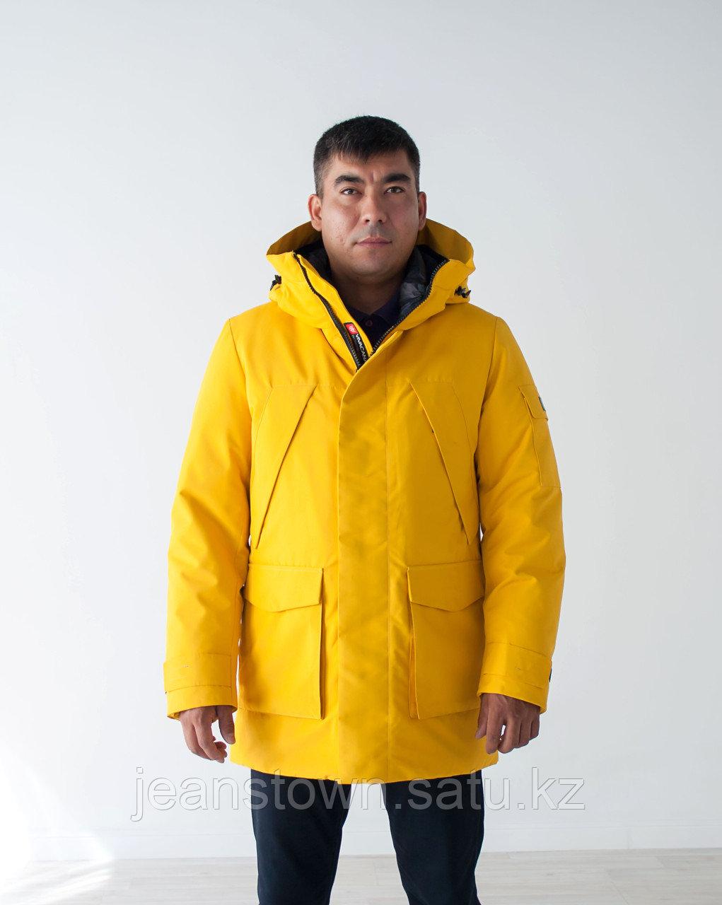 Куртка мужская зимняя Vivacana желтая