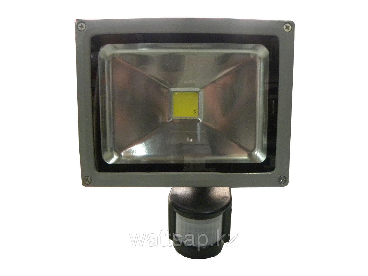 Прожектор светодиодный 20 Вт с датчиком движения