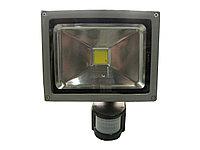 Прожектор светодиодный 20 Вт с датчиком движения, фото 1