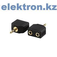 Переходник П-13 (3,5 mm stereo pluq — 2x3.5mm mono jack) кабель аудио,видео,компьютерный купить